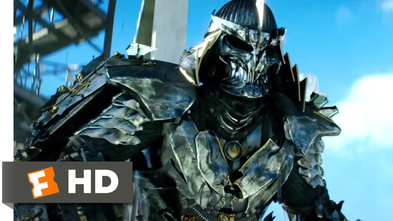 Teenage Mutant Ninja Turtles 2014 Shredder S Downfall Scene