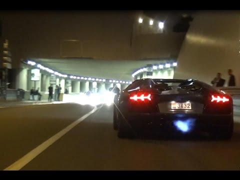 Lamborghini Aventador POLICE CHASE in Monaco!
