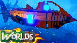 One of Team Ryan's most viewed videos: LEGO Worlds - SUBMARINE BASE! LEGO Land Build - LEGO Worlds Underwater (LEGO Worlds Gameplay)