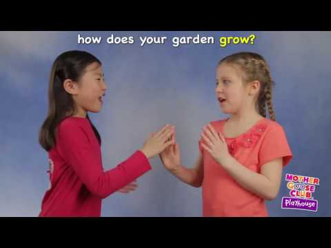 Mary, Mary, Quite Contrary   Mother Goose Club Playhouse Kid Video
