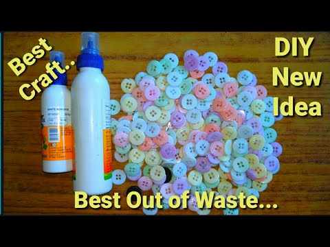 DIY art and craft | Easy School project idea | Room decoration idea | Best out of waste material