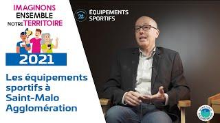 Les équipements sportifs à Saint-Malo Agglomération