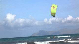 Mallorca Kitesurfing  Playa de Muro 2010
