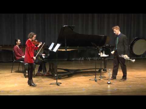 Trio Sonata for Violin, Trumpet, and Piano, James Stephenson - Carmen Flesher, JP Wogaman II