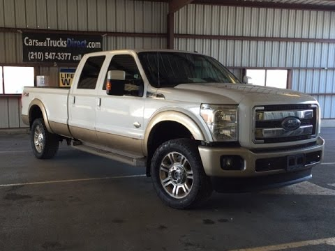 2013 ford f350 super duty king ranch powerstroke review - youtube