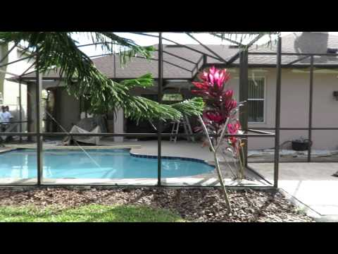 Pool Screen Enclosure Painting Company In Orlando Fl Youtube