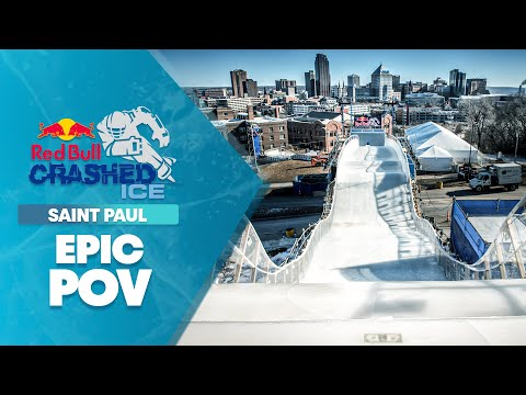 GoPro View: Downhill Ice Cross Carnage at Crashed Ice Saint Paul