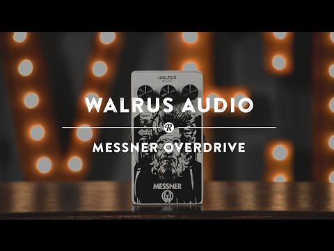 Walrus Messner Overdrive | Reverb Demo Video