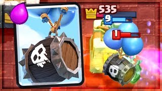 Clash Royale - SKELETON BARREL IS BACK! New OP Deck