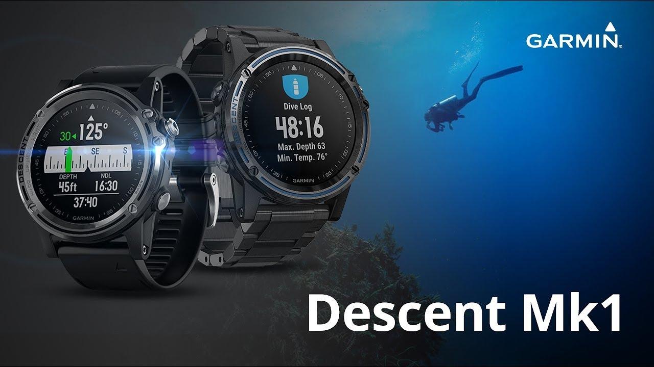 Plongez avec la Garmin Descent MK1