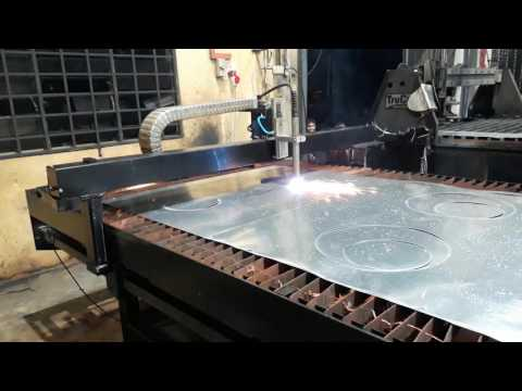 CUTSYS CNC Plasma Cutting Machine on HVAC Sheet Metal Fabrication Malaysia