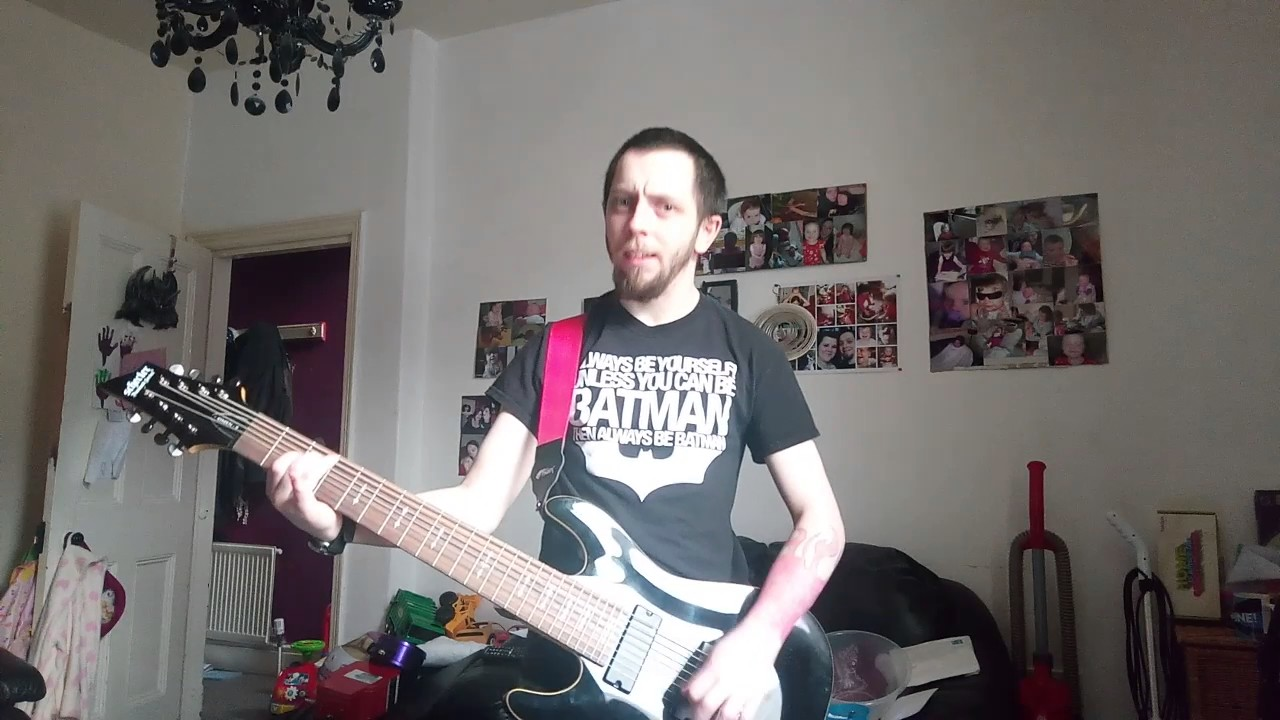 8 String Jam Reverse Power Chords Youtube