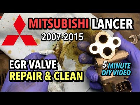 Mitsubishi Lancer – EGR Repair & Cleaning – 2007-2015