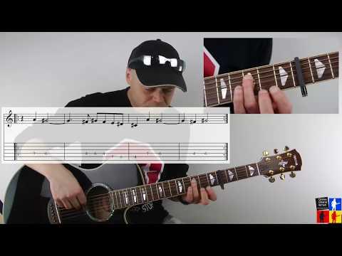Wie spielt man Wolke 4 Philipp Dittberner Guitarlesson Tutorial