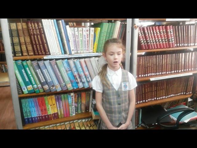 Изображение предпросмотра прочтения – СофьяБушуева читает произведение «Красною кистью...» М.И.Цветаевой