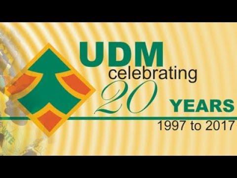 United Democratic Movement 20th anniversary, 30th September 2017