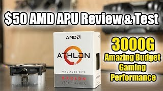 AMD Athlon 3000G -Amazing Budget iGPU Performance!