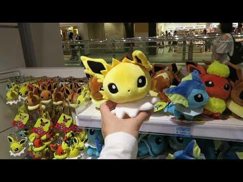 pokemon mega center store tour + bake cheese tart ~ take me to tokyo, japan vlog #20