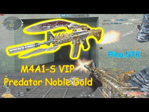 [ Bình Luận CF ] M4A1-S Predator Noble Gold ✔「Pino.NTK」