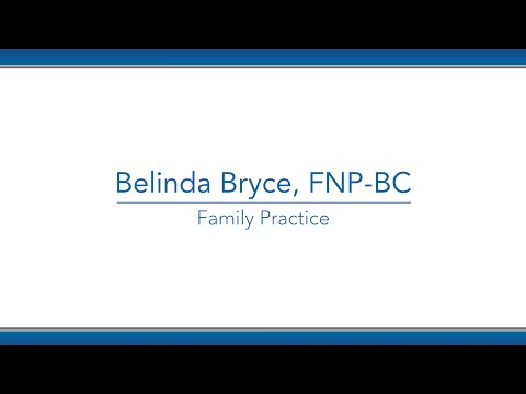 Belinda Bryce, RN / NP video thumbnail