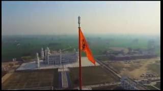 Nishan Sahib at Bulandpuri Sahib