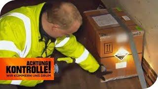 Dieses Paket soll 20.000 kg wiegen! Sind die Ladungspapiere falsch? | Achtung Kontrolle | kabel eins