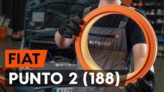 Ako vymeniť vzduchový filter na FIAT PUNTO 2 (188) [NÁVOD AUTODOC]