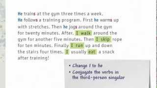 Grammar Guide - Teaching Demo: Third-person singular