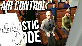 Air Control - Realistic Mode - Air Control Highlights WORST GAME EVER