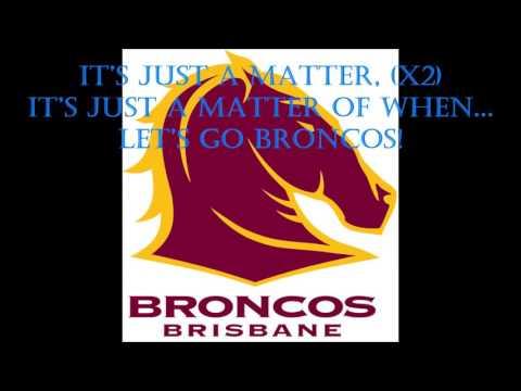 Brisbane Broncos theme song (Lyrics) NRL Sing-A-Long