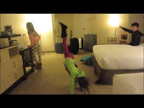 bratayley gymnastics homework