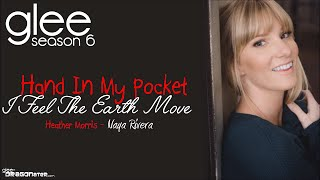 Glee - Hand in My Pocket/I Feel The Earth Move Lyrics