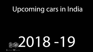new cars in 2018/19