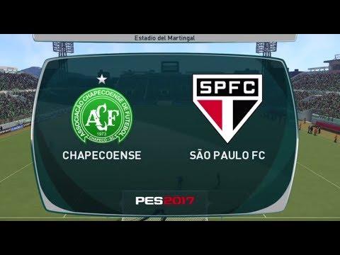 CHAPECOENSE VS SÃO PAULO BRASILEIRAO SERIE A