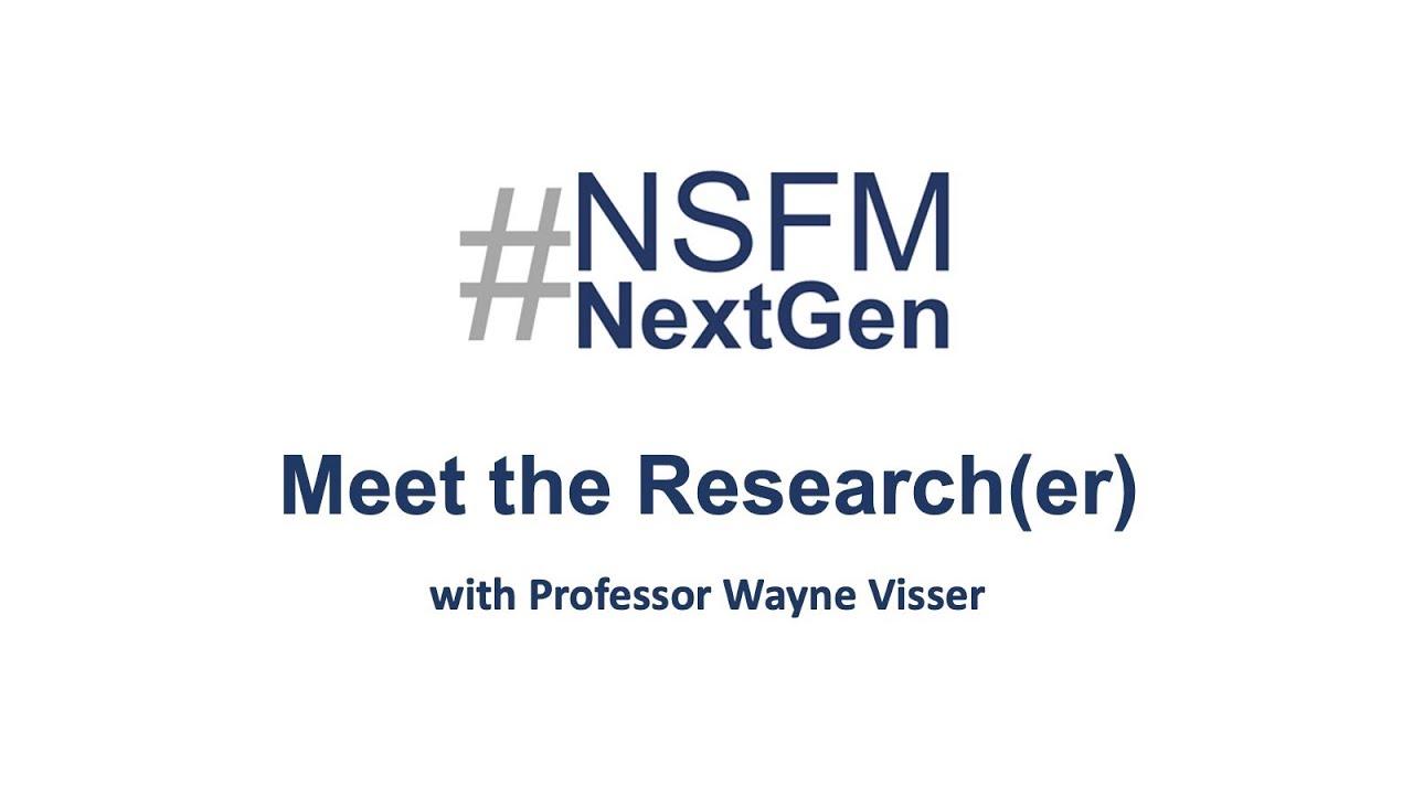 Meet the Research(er) Series # with Professor Wayne Visser