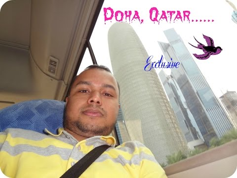 Sky line of New Doha, Qatar - How to go