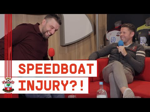 """""""I INJURED MYSELF ON A SPEEDBOAT!"""" 