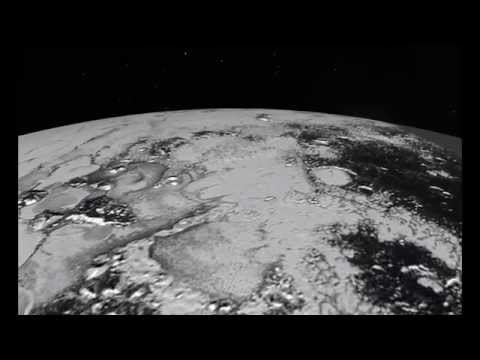 Pluto: Flight Over the Hillary Mountains | Space Video
