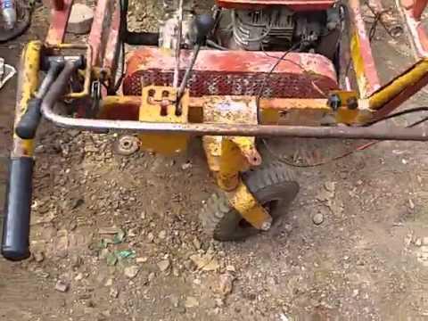 รถบรรทุก ดั้มปูน ดั้มเปอร์ ขนดิน เอนกประสงค์ เครื่องเบนชิน ROBIN EY18