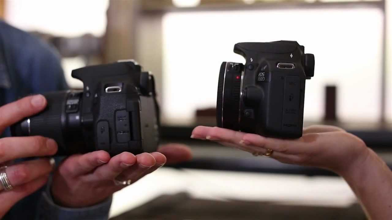 Canon EOS 100D and EOS 700D - First Look - YouTube