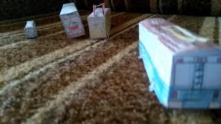 Все мои бумажные модели лиазы,ЗиУ Лм мини лиаз