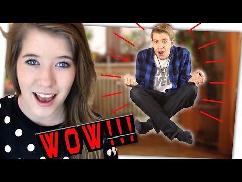YOUTUBERIN reagiert auf meine VIDEOS!