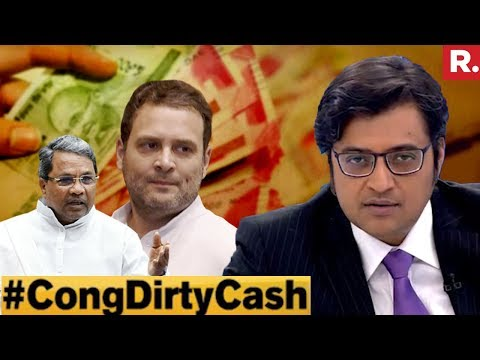 Congress Dirty Cash Scandal EXPOSED | The Debate With Arnab Goswami