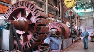 Amazing Largest Electric Motor Manufacturing And Repair Motor 1010 kW