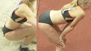 Ksenia Achkinadze 2015, a German female long jumper