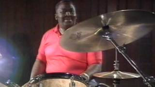 "Bernard ""Pretty"" Purdie: MY FIRST DRUM SOLO - many many many years ago...."