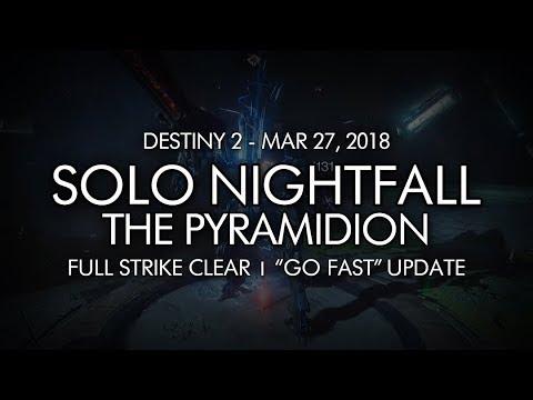Destiny 2 - Solo Prestige Nightfall: The Pyramidion (Titan - Week 20) from YouTube · Duration:  16 minutes 5 seconds