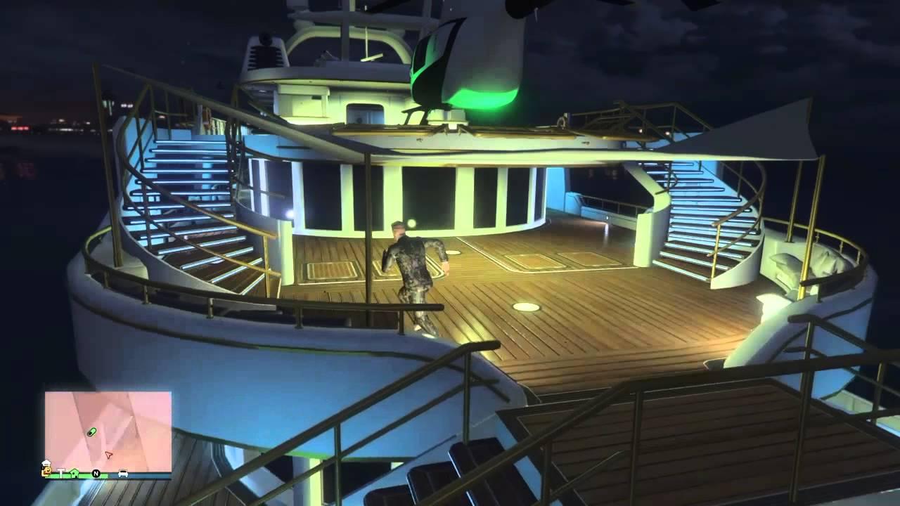 Luxusyachten innen  Gta 5 Die Yacht von innen/VIP Regestrirung - YouTube