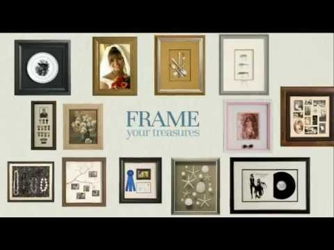 Custom Framing with Larson-Juhl Products - YouTube