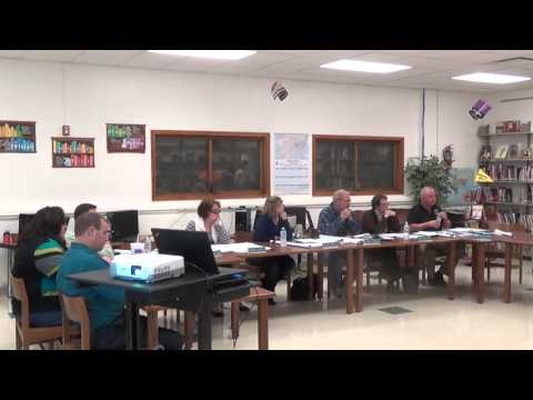 Midland School Board Meeting 10-19-15